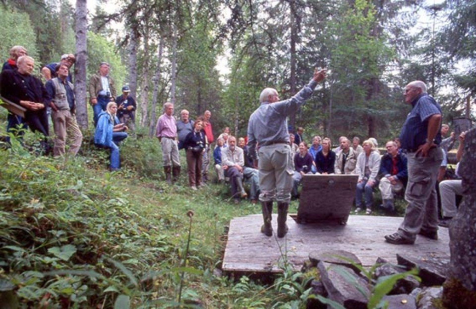 Källexkursion till Jämtland
